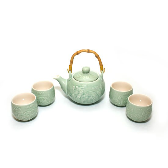 """Чайный сервиз """"Утро"""" (4 персоны) от 101 Чай"""