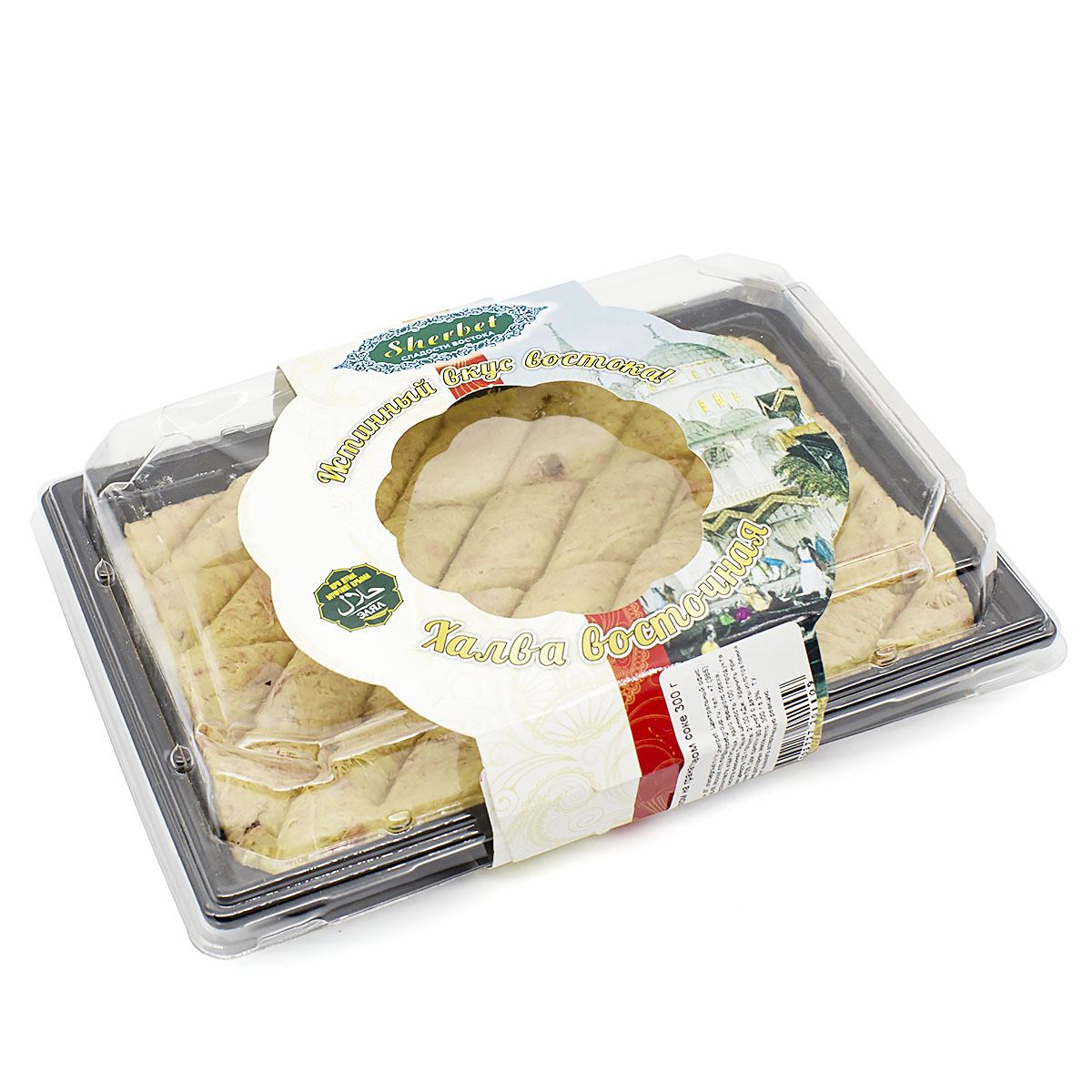 Купить со скидкой Халва арахисовая с грецким орехом на гранатовом соке, 300 г (уцененный товар)