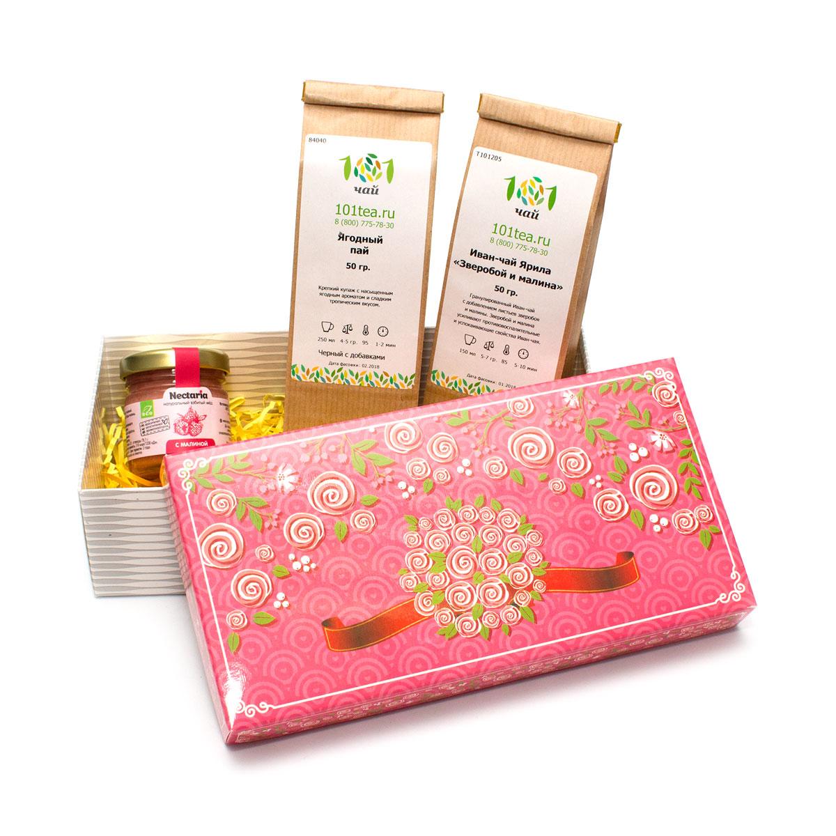 """Подарочный набор чая """"Ягодное настроение"""" от 101 Чай"""