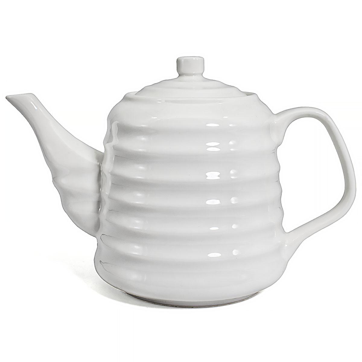Заварочный чайник Милый, фарфор, 850 мл
