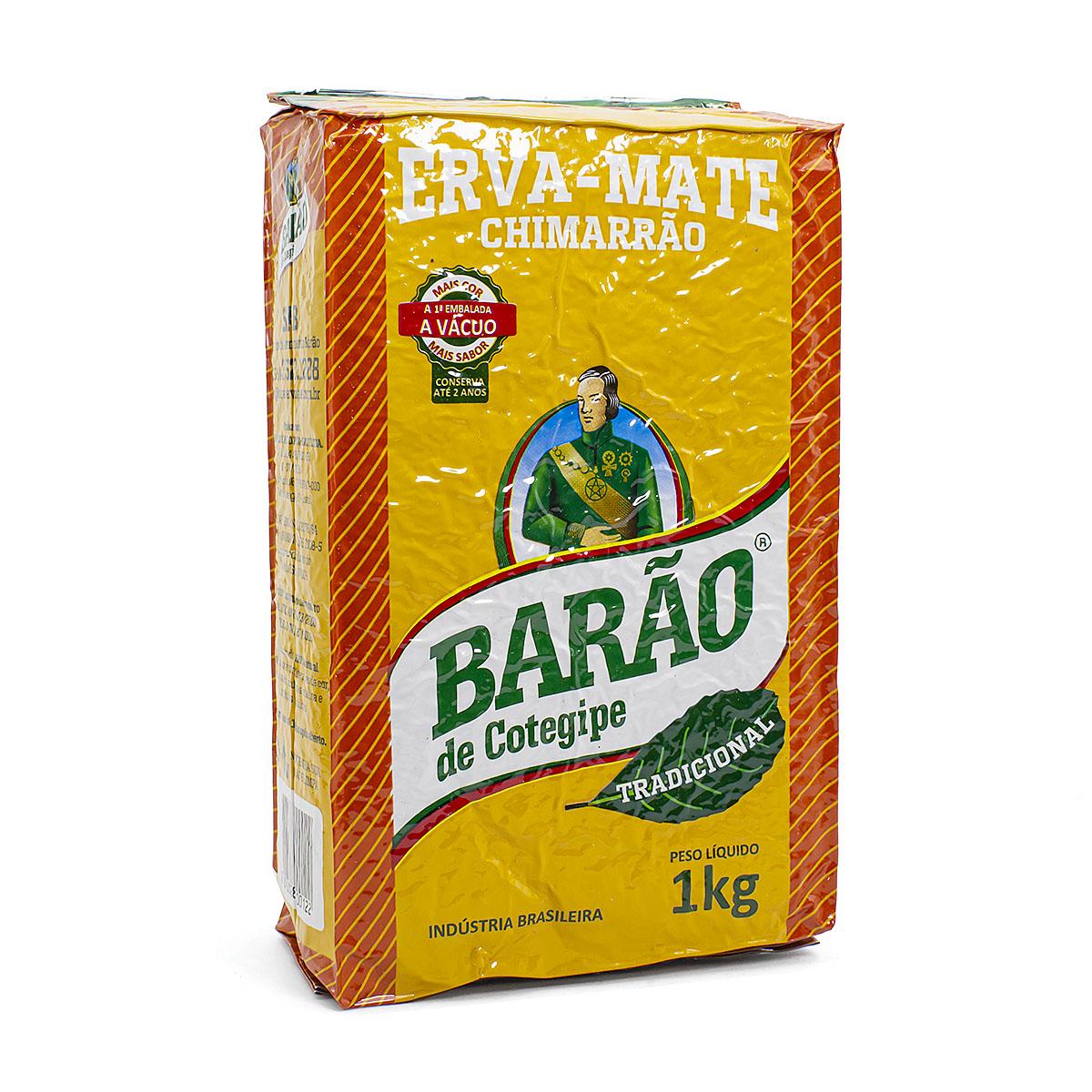 Мате Barao De Cotegipe Tradicional, 1000 г мате playadito tradicional 500 г