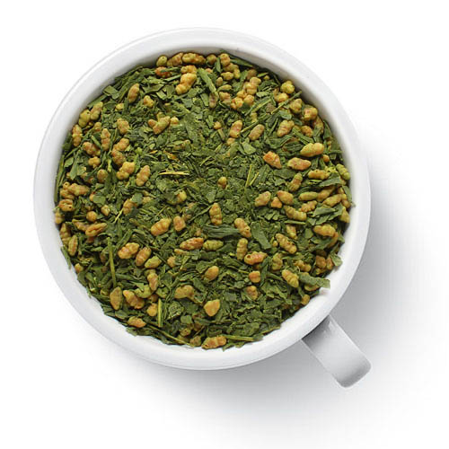 Зеленый ароматизированный чай Генмайча