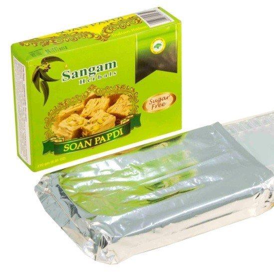Индийская халва Соан Папди (без сахара), 250 г