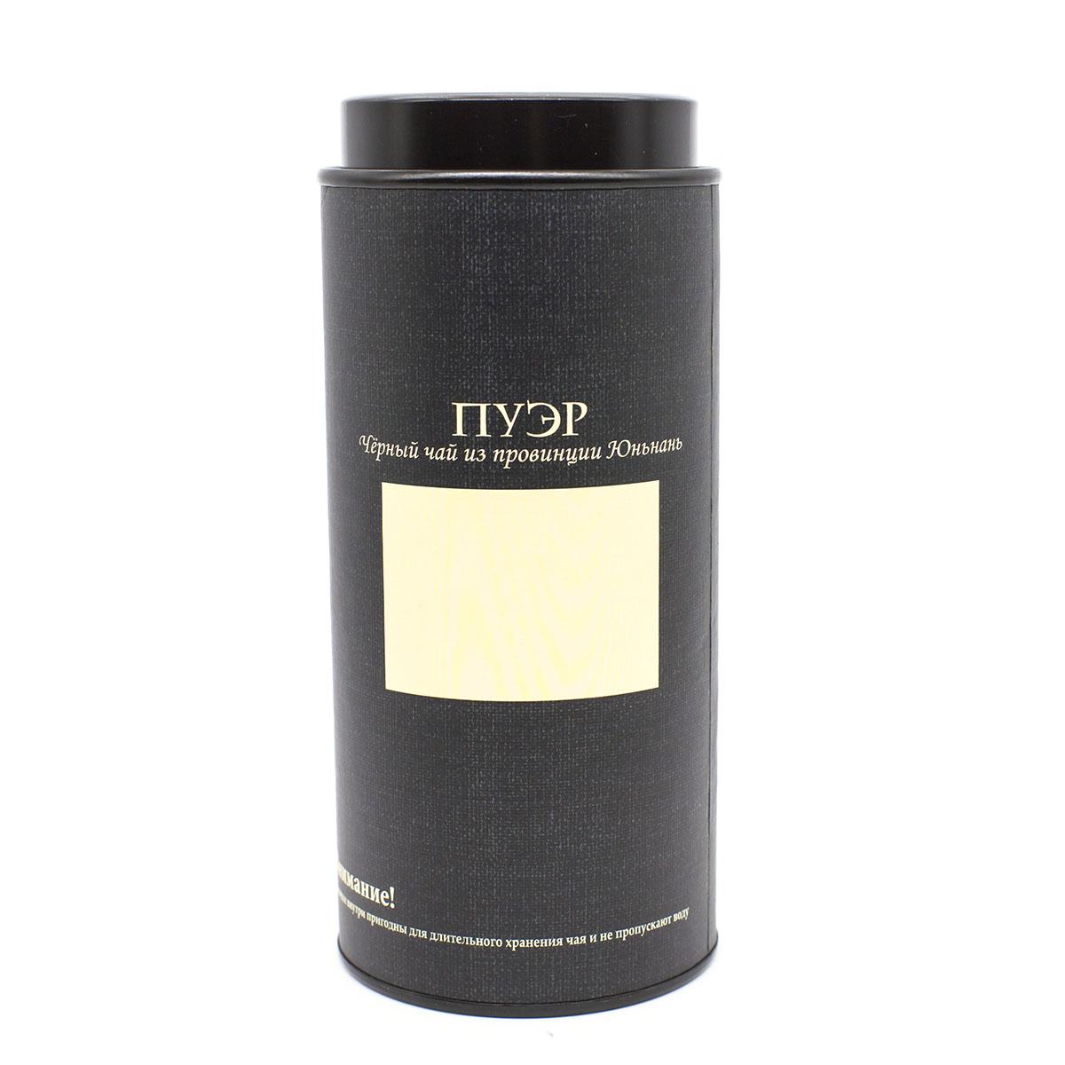 Банка картонная Мелодия неба - Пуэр. Черный чай 76*175 банка картонная мелодия неба белый чай 76 175