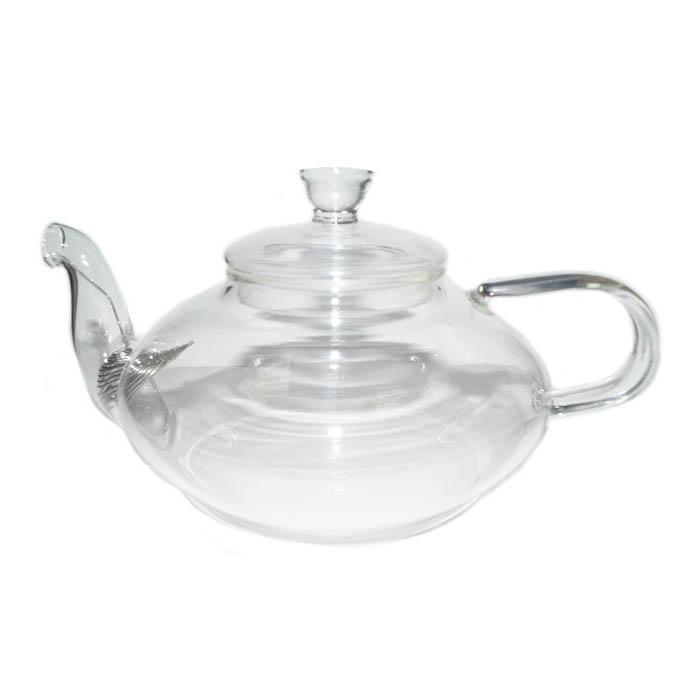 Стеклянный заварочный чайник Фрезия, 600 мл чайник заварочный на подставке maxwell