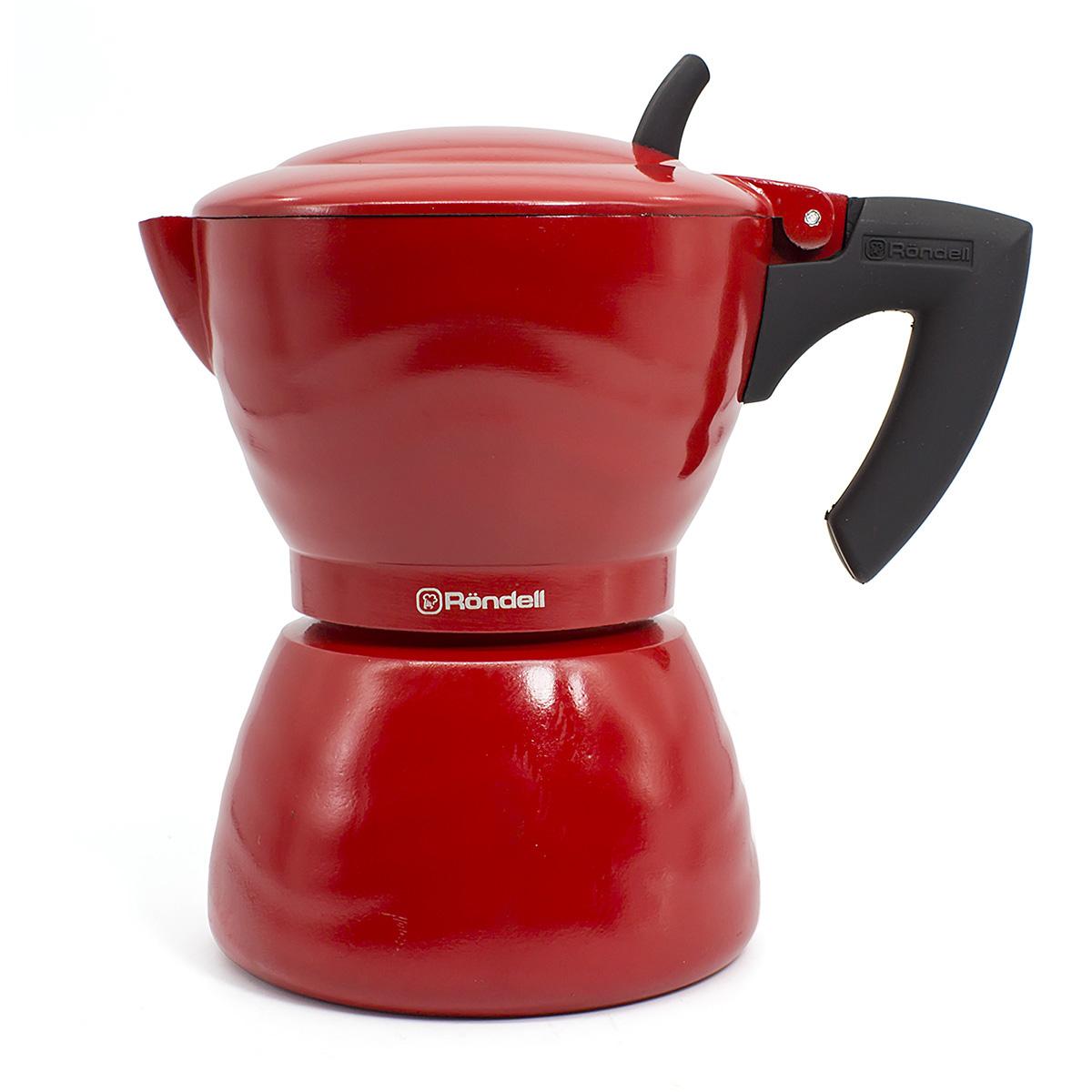цена Гейзерная кофеварка Rondell RDA-844, Fiero онлайн в 2017 году