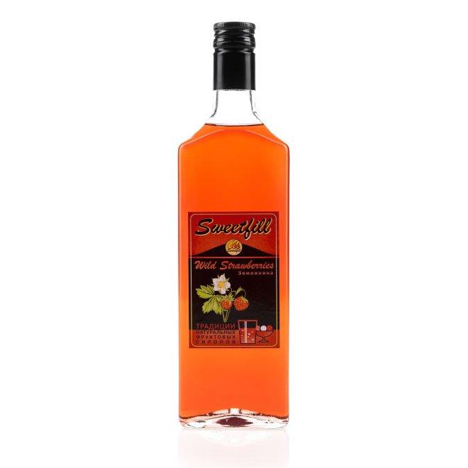 Сироп SweetFill Земляника, 0,5 л