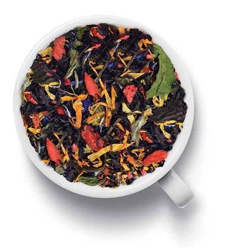 Черный ароматизированный чай с ягодами Годжи