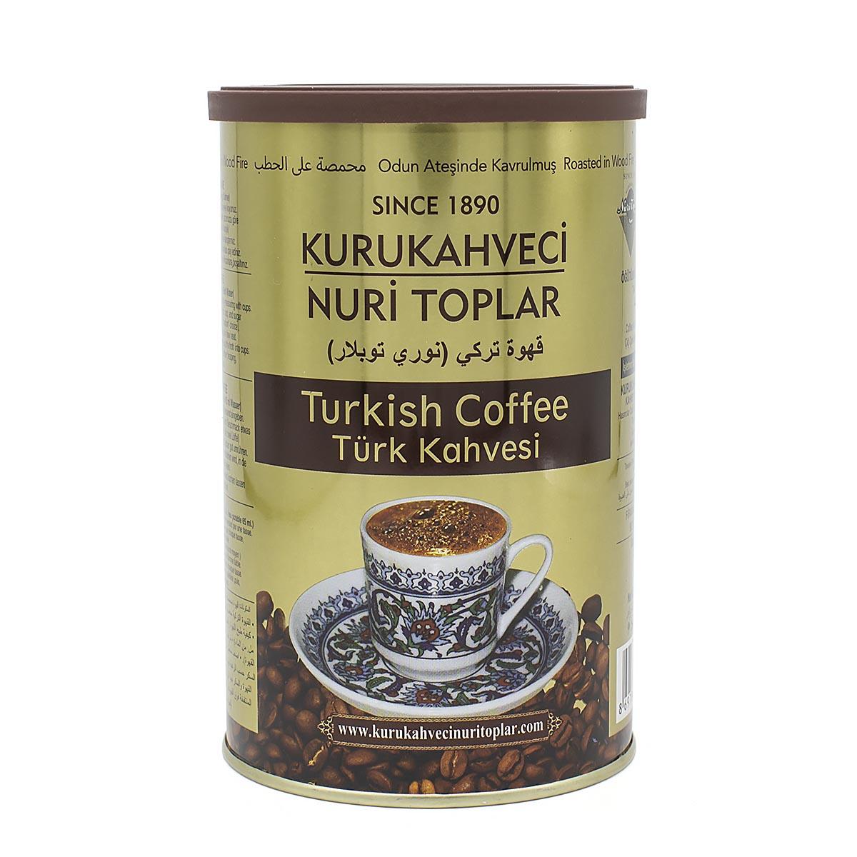 Кофе молотый Kurukahveci Nuri Toplar, 250 г
