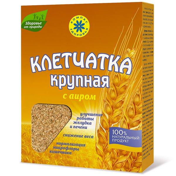 Клетчатка пшеничная крупная с аиром, 150 г от 101 Чай