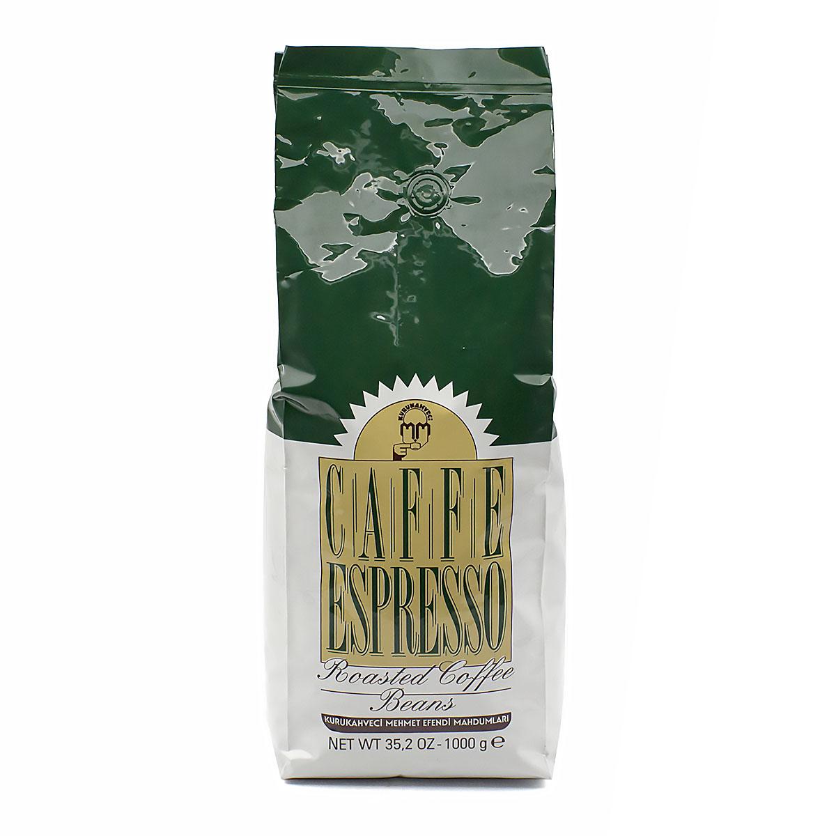 Кофе Mehmet Efendi Espresso в зернах, 1000 г