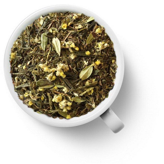 Зеленый ароматизированный чай с чабрецом