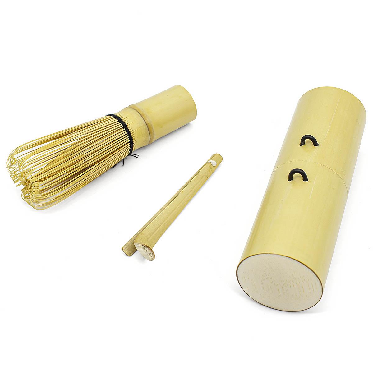 Набор для матча: бамбуковый венчик и ложечка в тубусе авент набор для кормления слюнявчик чашка ложечка scf730 00