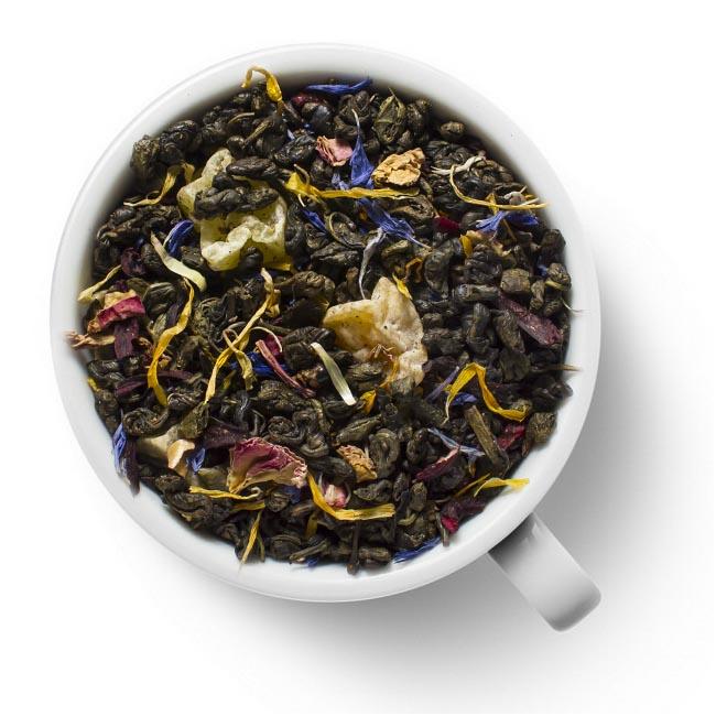 Зеленый ароматизированный чай Грезы султана