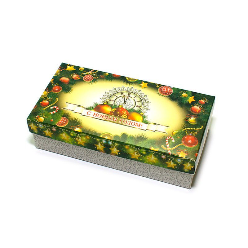 "Коробка подарочная ""С Новым Годом!"" (вар.6), 20х10х5,5 см"
