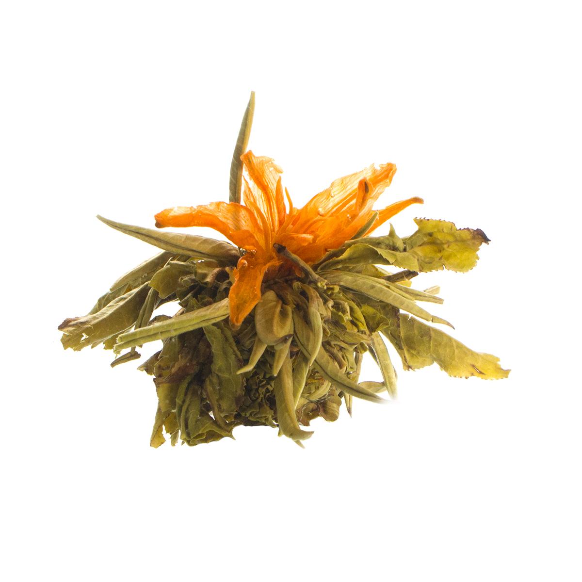 Связанный чай Бай Юй Лянь (Белый лотос благоденствия), 5 шт. в уп.