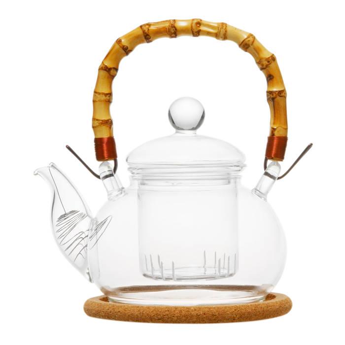 """Стеклянный заварочный чайник """"Мак"""", 500 мл"""