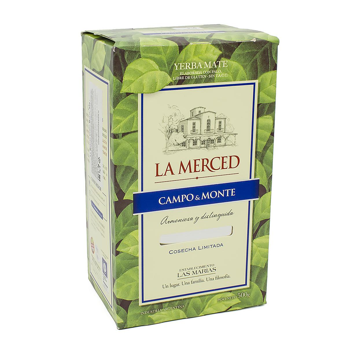 Мате La Merced Campo & Monte (микс), 500 г чай травяной la merced yerba mate campo