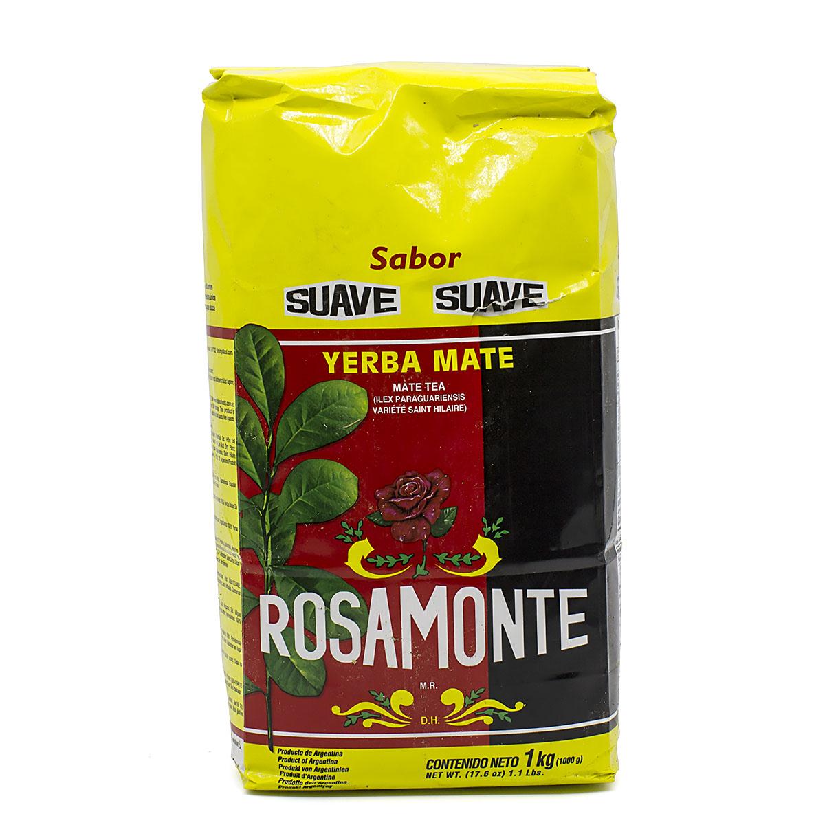 Купить со скидкой Мате Rosamonte Suave, 1000 г