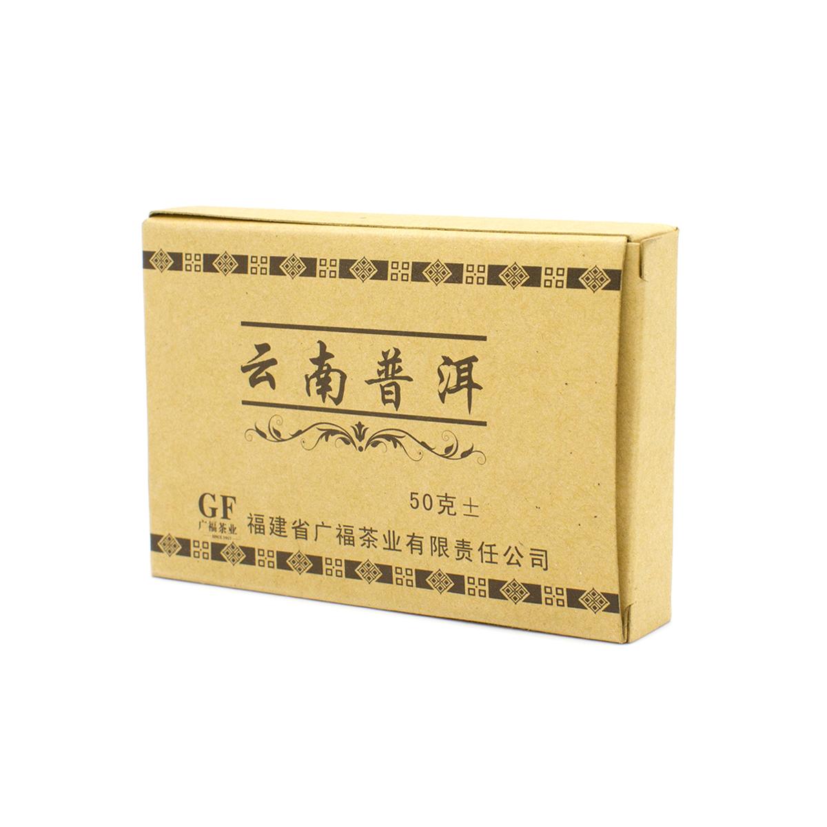 купить Шу Пуэр (плитка), 50 г недорого