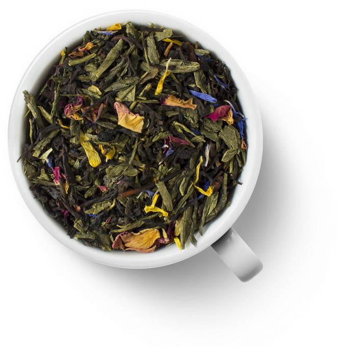 Зеленый с черным ароматизированный чай Premium Арабская ночь