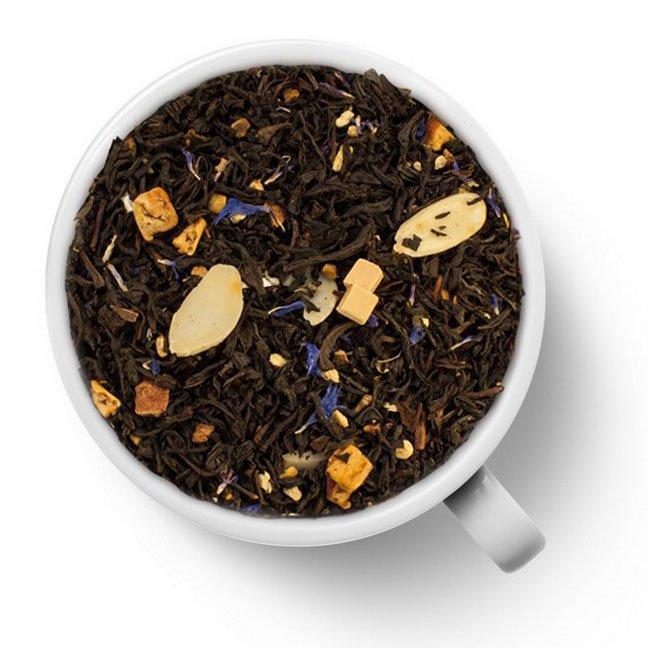Черный ароматизированный чай Миндаль и карамель