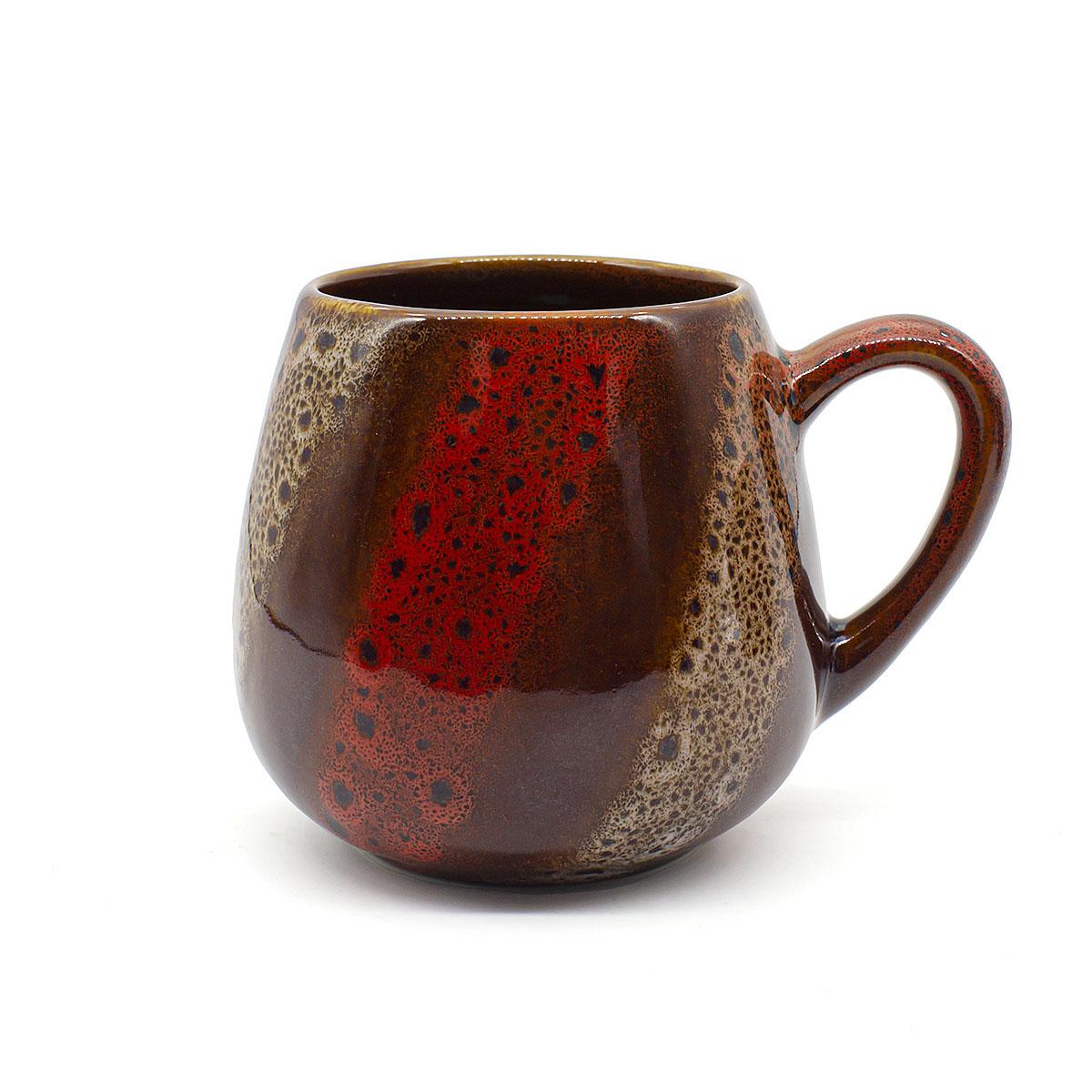 Чашка глиняная Малиновый щербет, 350 мл