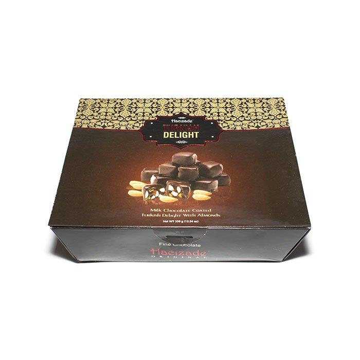 Лукум в шоколаде с миндалем, 350 г