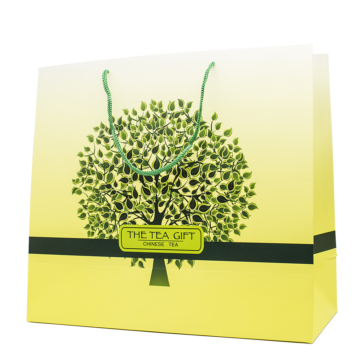 цена на Пакет подарочный Чайное дерево 33х37х15 см