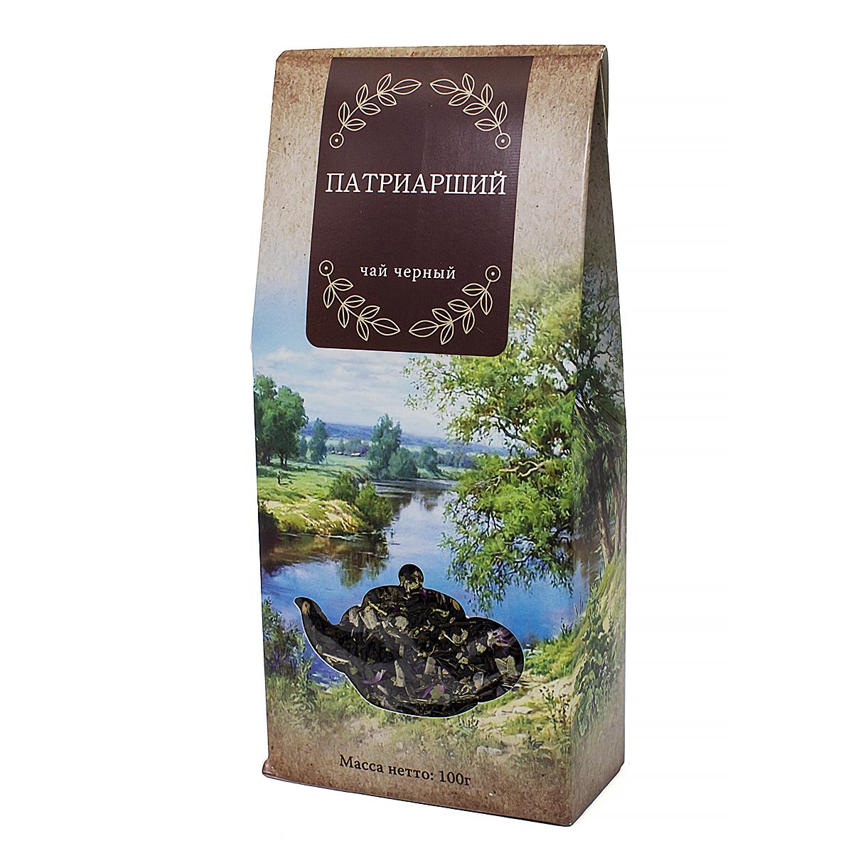 Чай черный Патриарший, 100 г si ю волокна цветок чай травяной чай чай гвоздика гвоздика листьев чай 55г 2 коробки