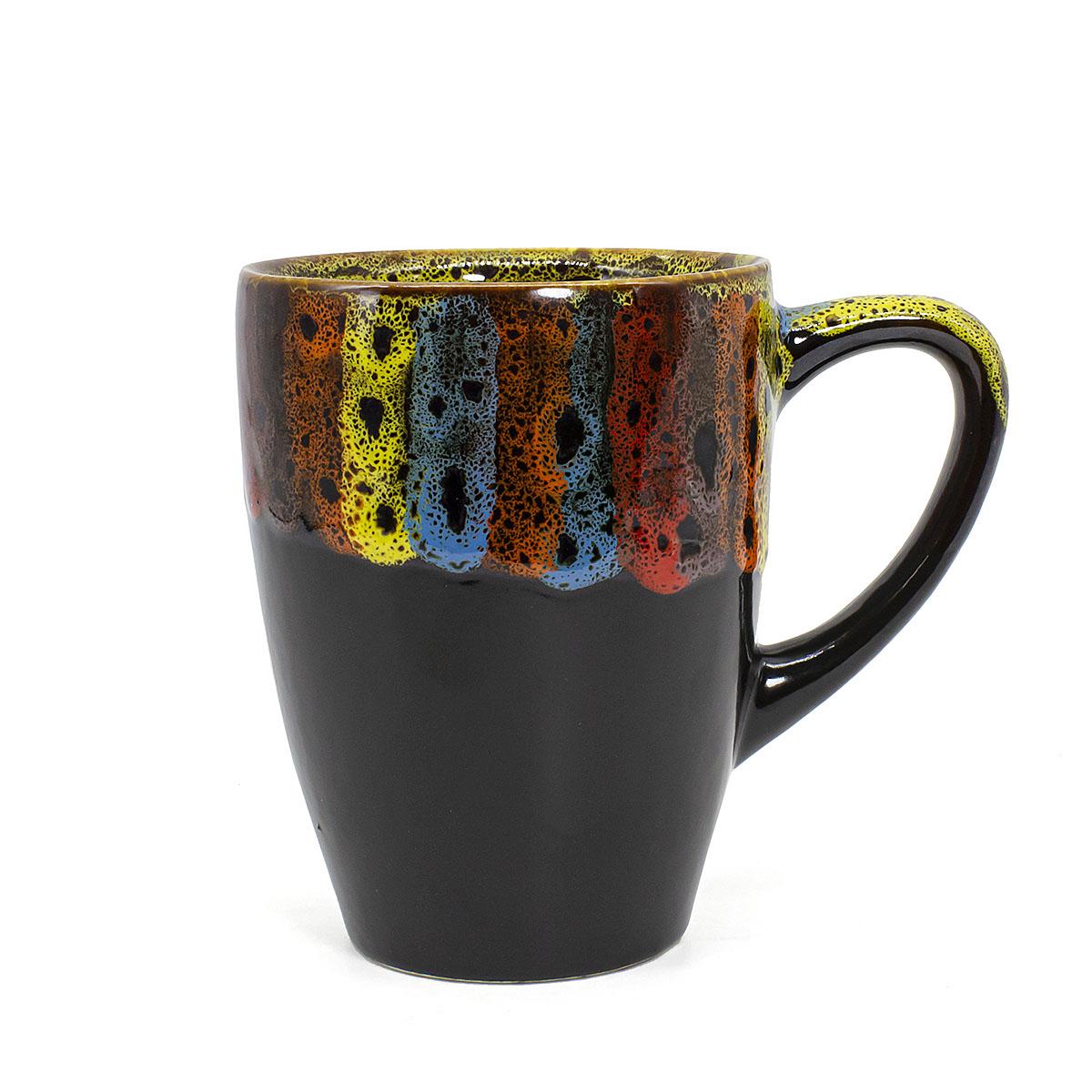 чашка глиняная малиновый щербет 350 мл Чашка глиняная Фантазия классическая, 350 мл