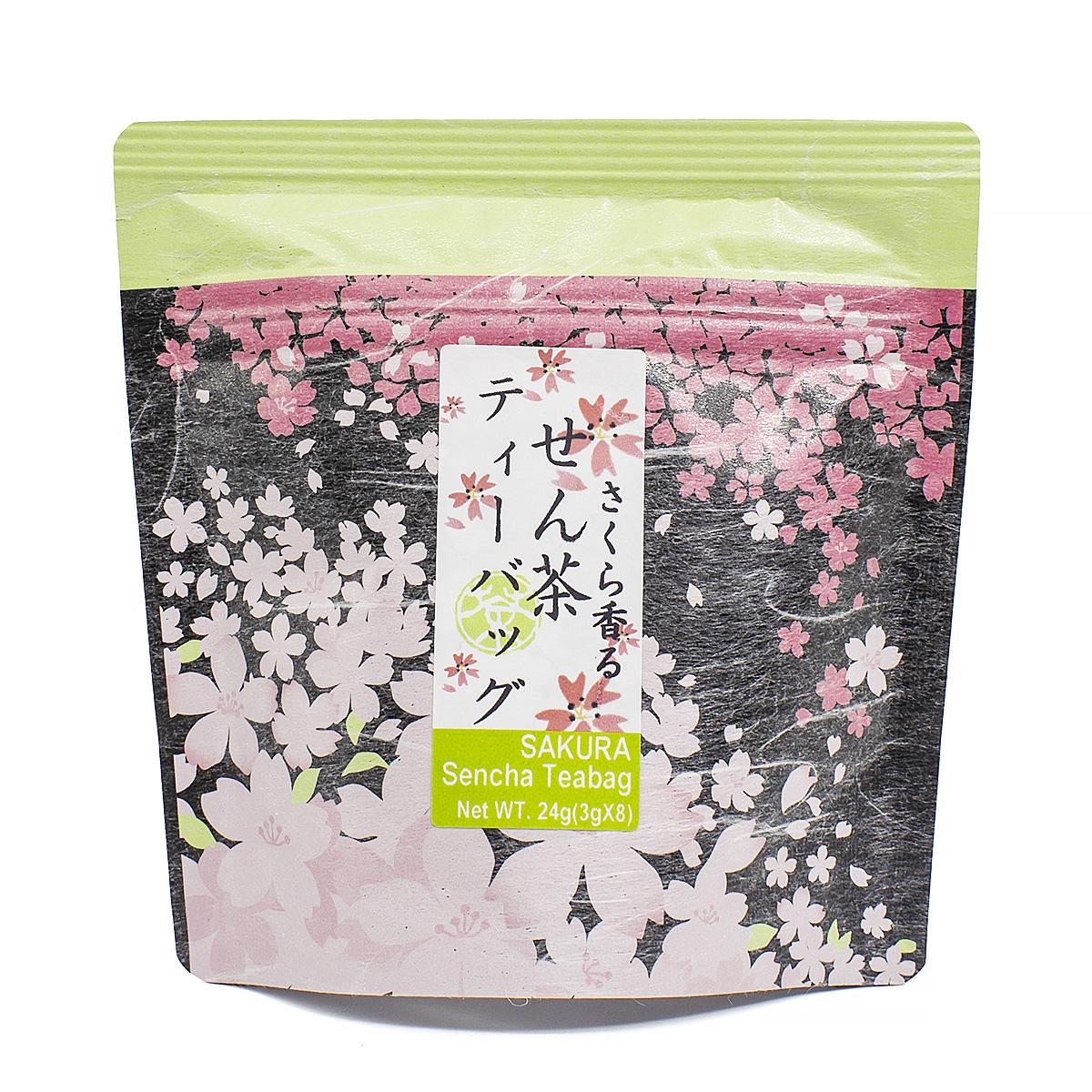 Чай зеленый Сакура Сенча в пакетиках, 3 шт х 8 г цена