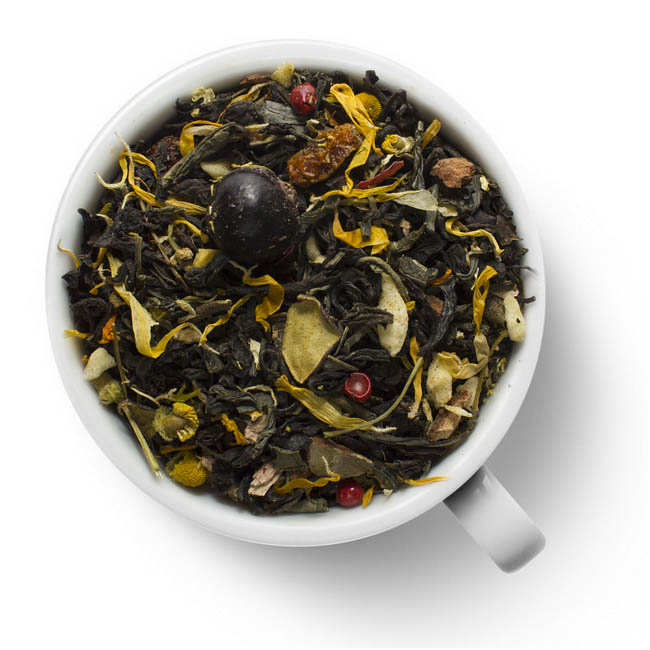 Чай черный с зеленым Евпатий Коловрат
