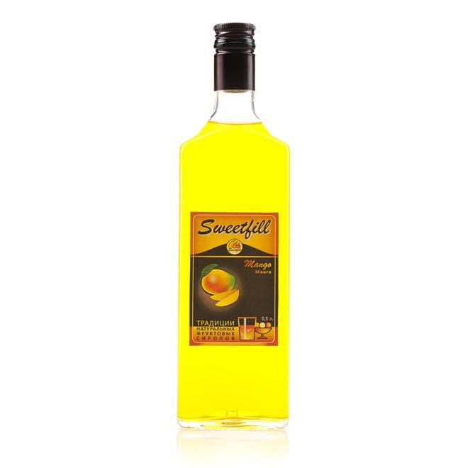 Сироп SweetFill Манго, 0,5 л