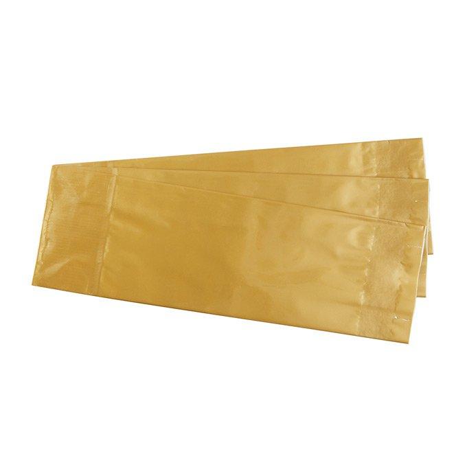 """Пакет для чая многослойный """"бронза"""", 50 г (размер 55 х 30 х 165 мм)"""