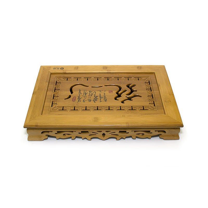 Чайный поднос (Чабань) из бамбука 47х31х6,5 см