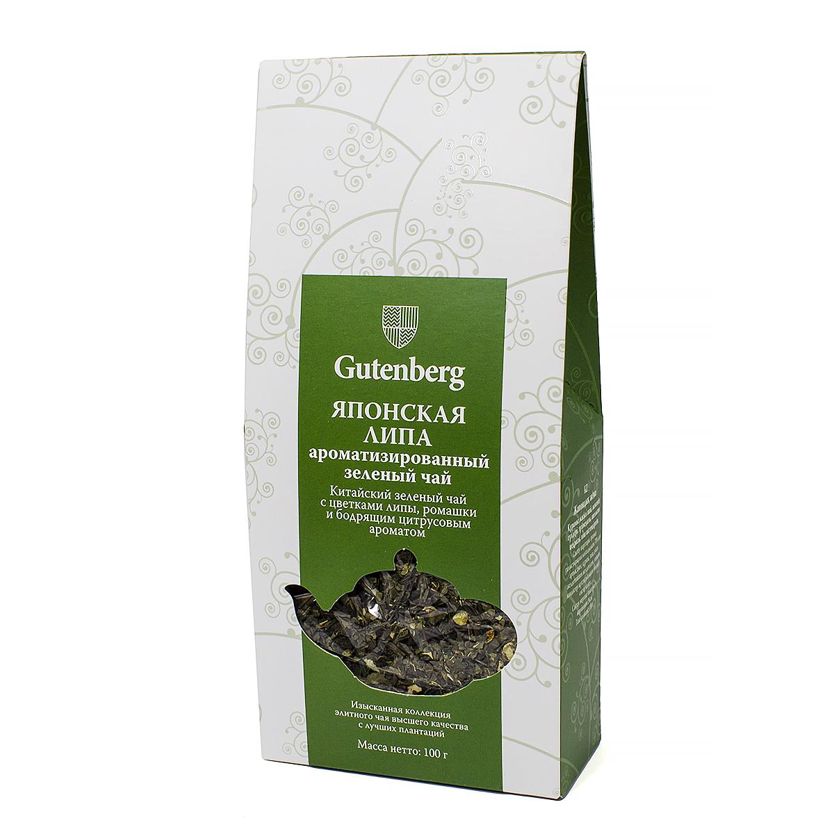 Чай зеленый Японская липа, 100 г