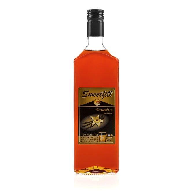 Сироп SweetFill Ваниль, 0,5 л barinoff сироп дыня 1 л