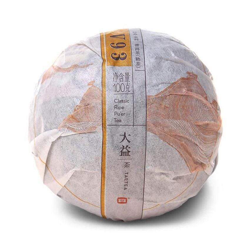 Шу пуэр V93 Мэнхай (ДА И), 2016 г, точа 100 гр.