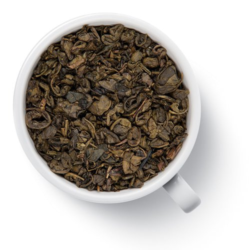 Зеленый ароматизированный чай Ганпаудер Дыня