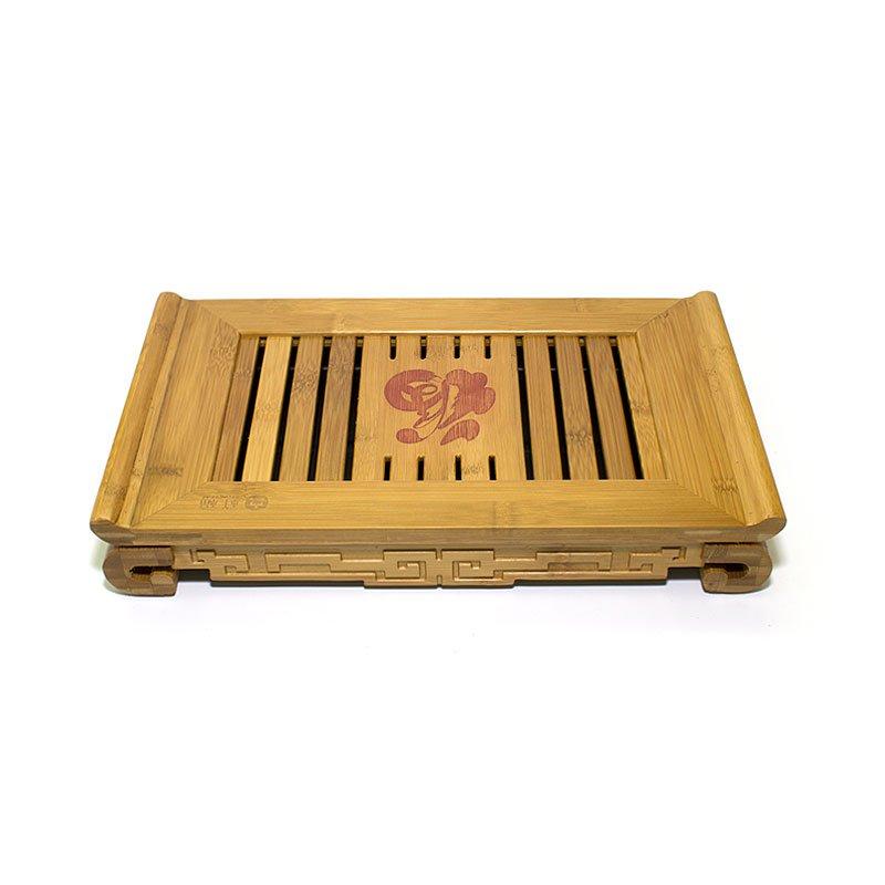 Чайный поднос (Чабань) из бамбука 38,5х22,6х5,8 см