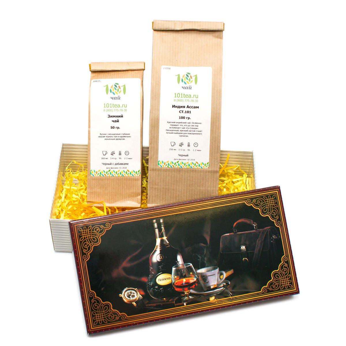 """Подарочный набор чая """"Для крепких духом"""" от 101 Чай"""
