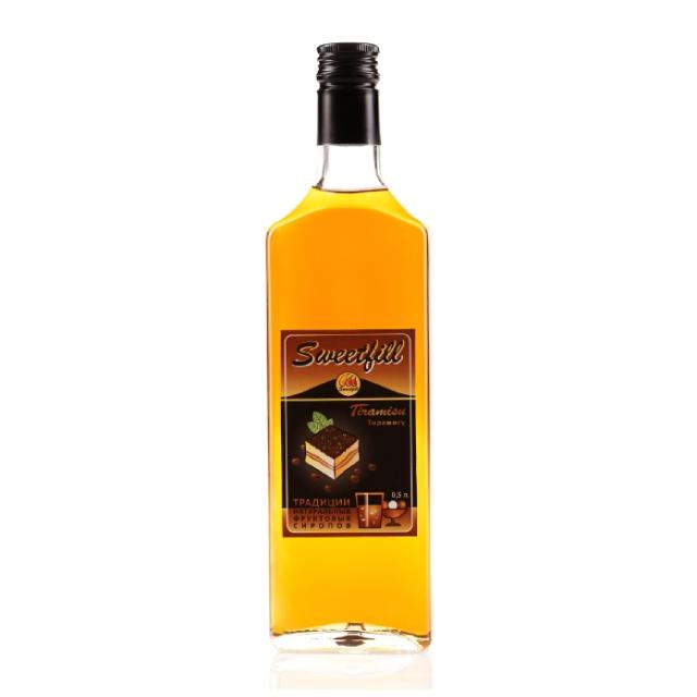 Сироп SweetFill Тирамису, 0,5 л сироп sweetfill апельсин 0 5 л