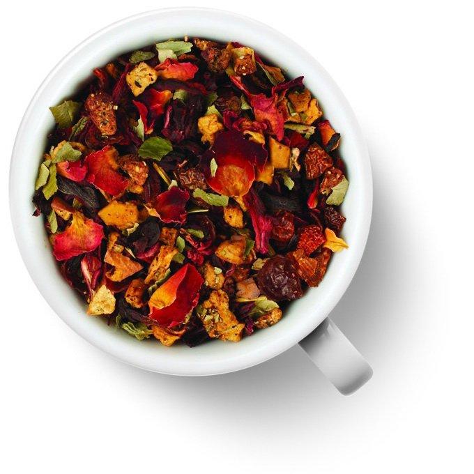 Фруктовый чайный напиток Клубника со сливками от 101 Чай
