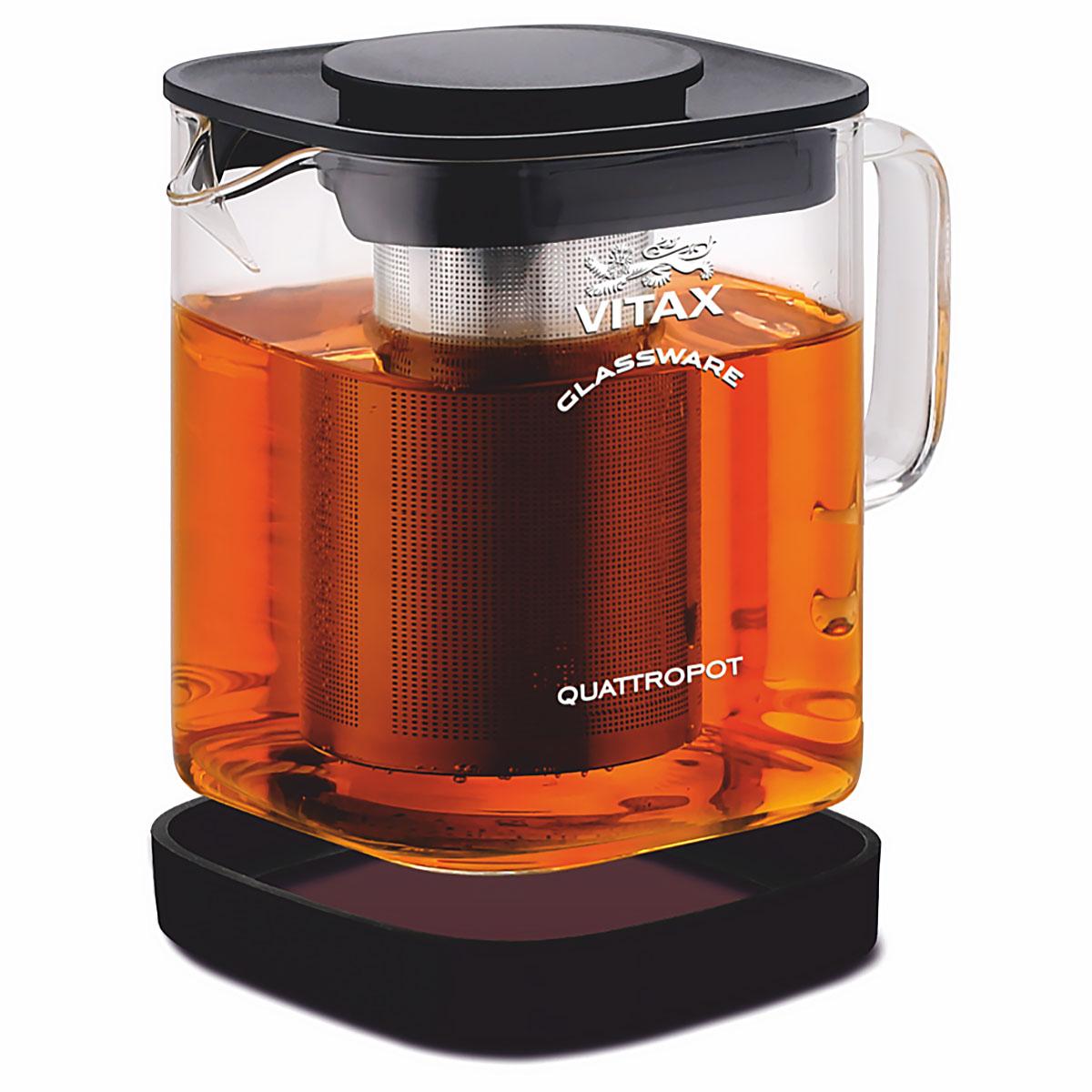 Чайник заварочный Vitax VX-3311 Thirlwall 4 в 1, 900 мл rainstahl заварочный чайник 7201 90 rs tp 900 мл стальной