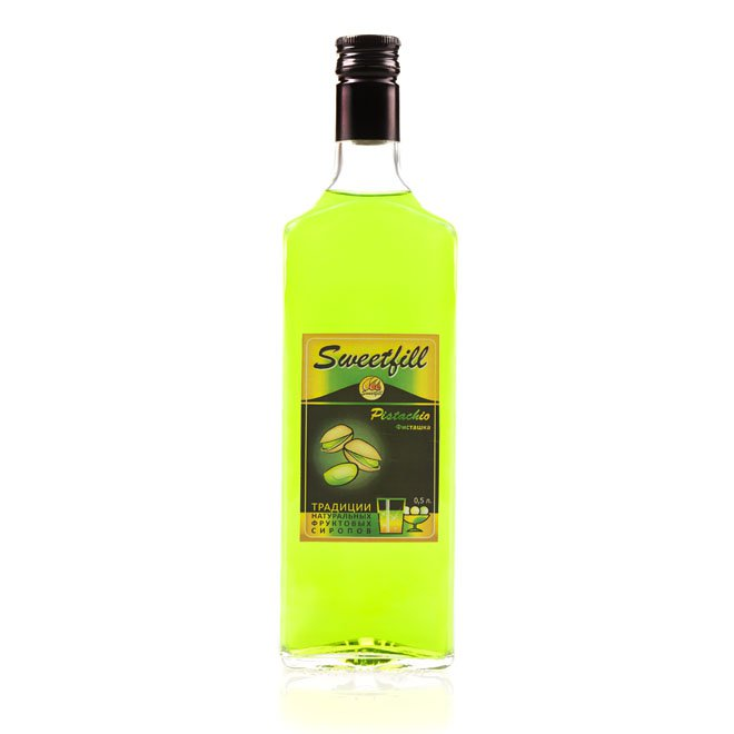Сироп SweetFill Фисташка, 0,5 л
