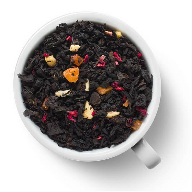 Черный ароматизированный чай Малиновый сад