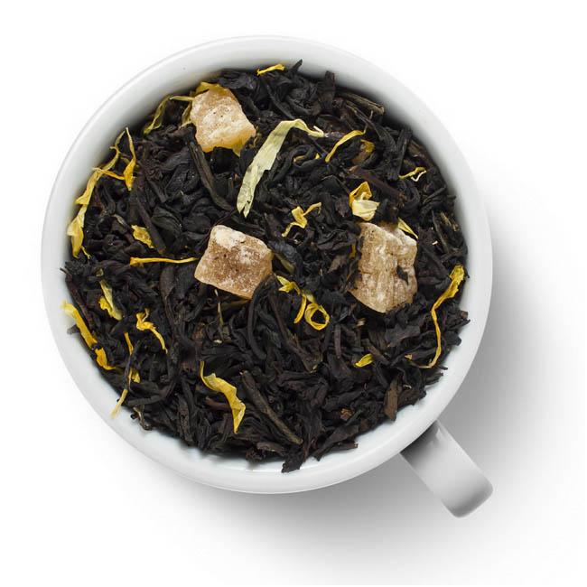 Черный ароматизированный чай Душистый персик