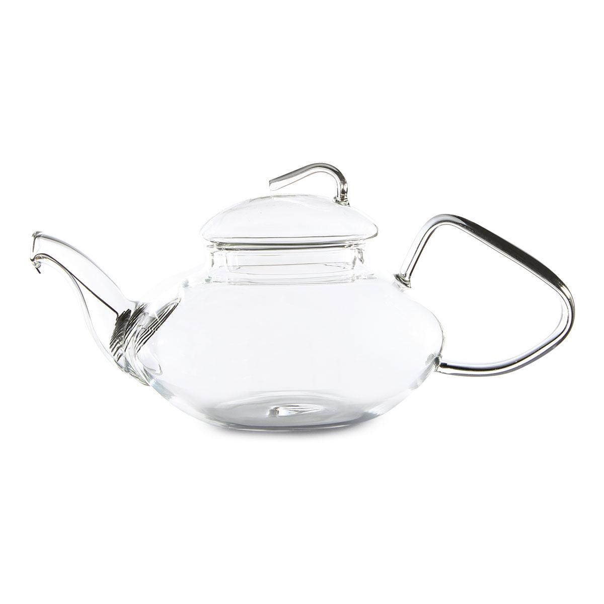 Стеклянный заварочный чайник Журавль 500 мл.