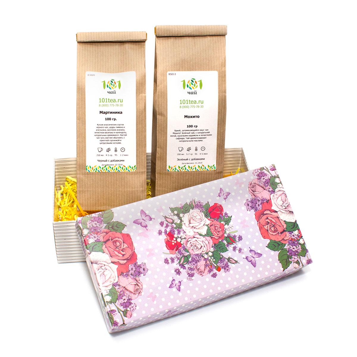 цена Подарочный набор чая